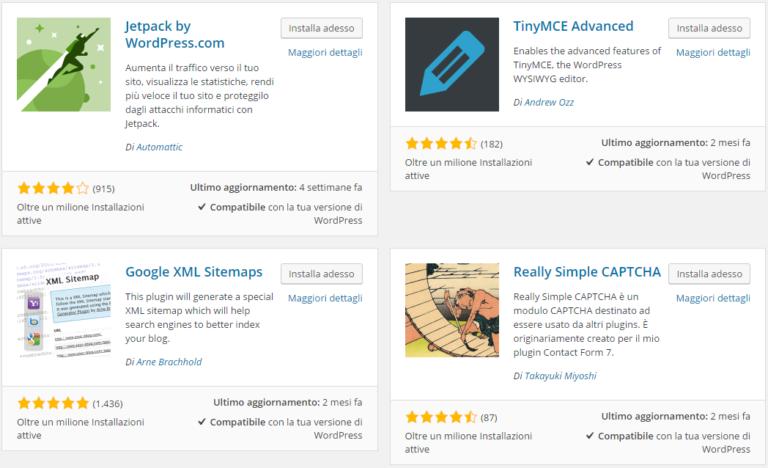 Plugin WordPress Gratuiti